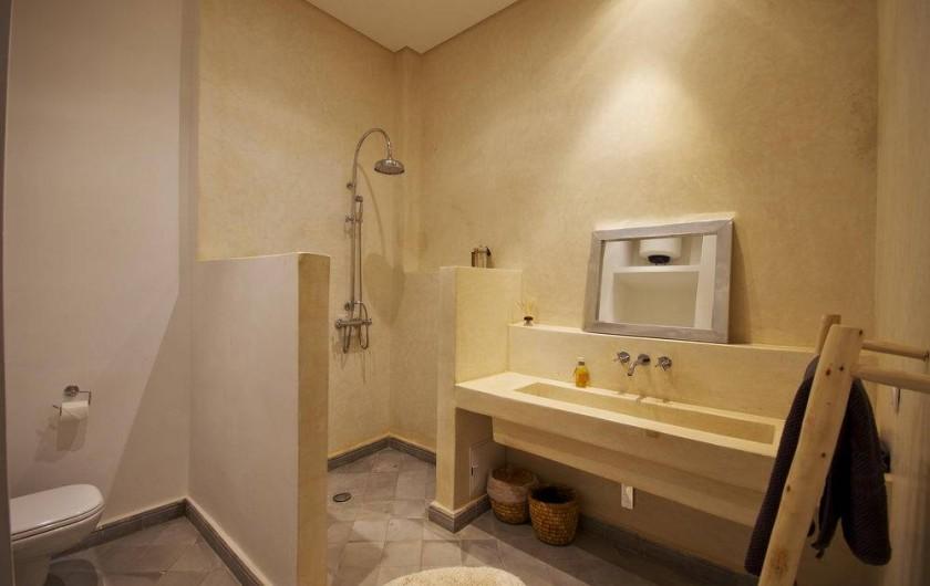 Location de vacances - Riad à Marrakech - Salle de douche
