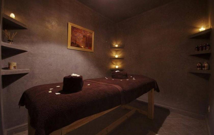 Location de vacances - Riad à Marrakech - Salle de massages