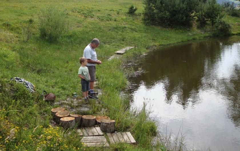 Location de vacances - Maison - Villa à Saugues - La pêche à la truite