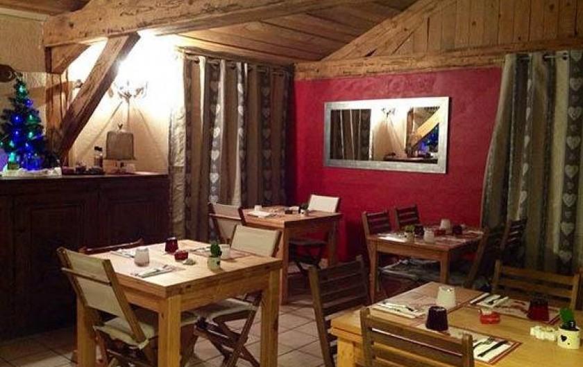 Location de vacances - Hôtel - Auberge à Pra-Loup - Salle de restaurant