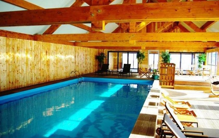 Location de vacances - Hôtel - Auberge à Pra-Loup - Piscine, salle de sport, sauna