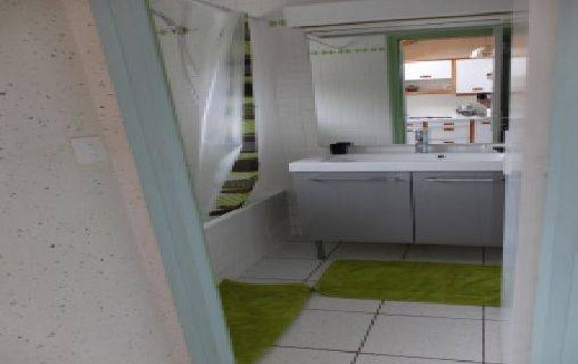 Location de vacances - Gîte à Fouesnant - La Salle de bain
