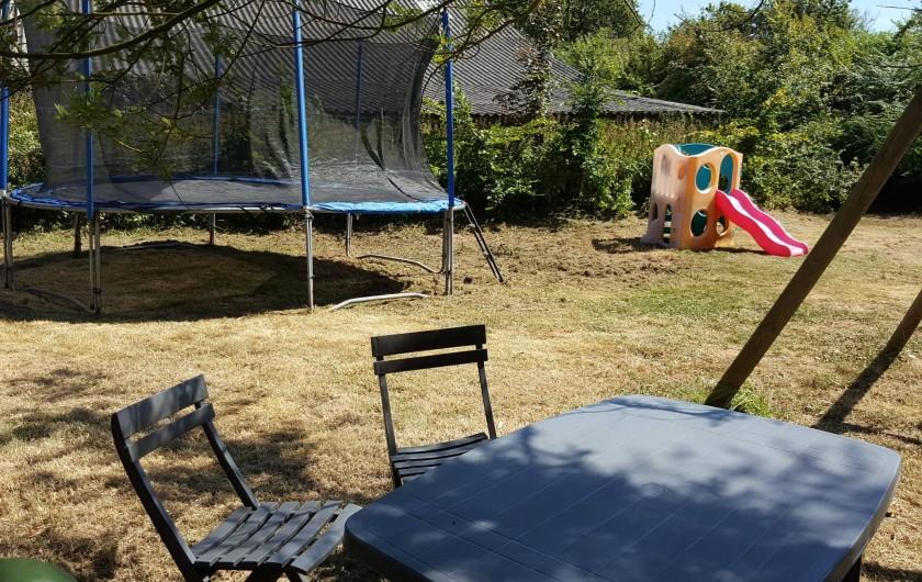 Location de vacances - Gîte à Fouesnant - Espace de jeux