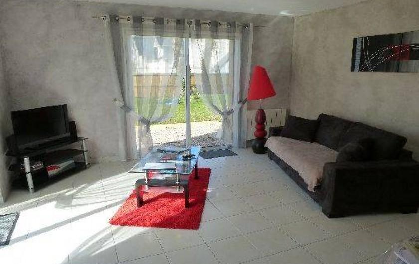 Location de vacances - Villa à Saint-Briac-sur-Mer - Coin détente au salon