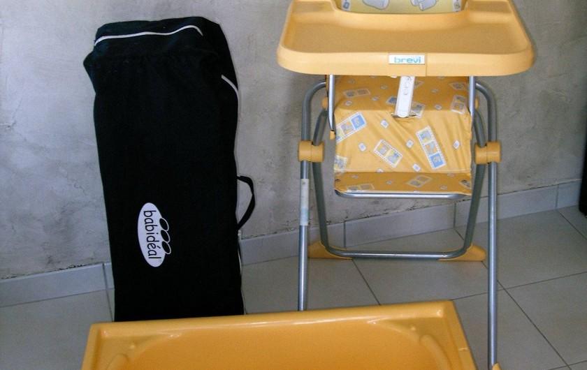 Location de vacances - Villa à Saint-Briac-sur-Mer - Le prêt gratuit du matériel pour bébé
