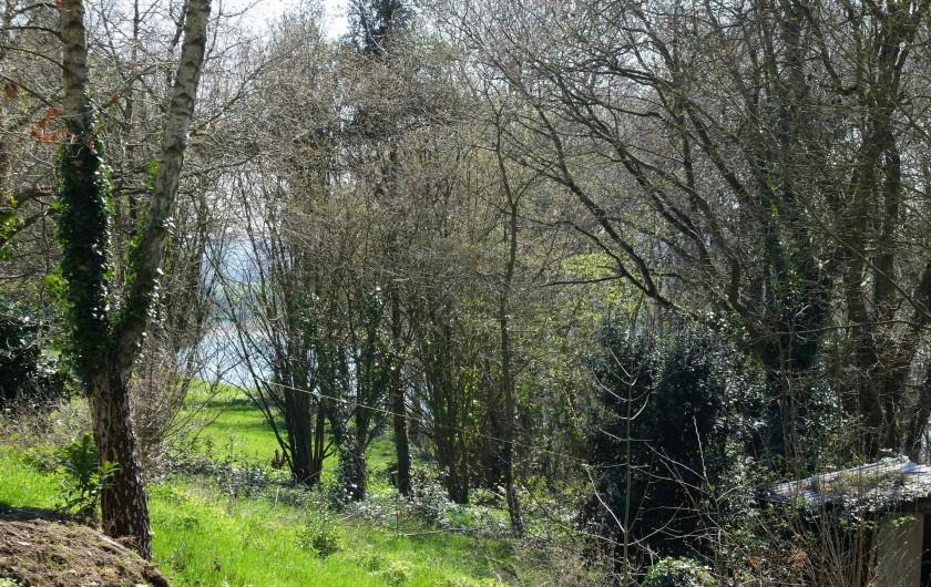 Location de vacances - Chalet à Plouër-sur-Rance - La propriété dans laquelle se trouve le gite