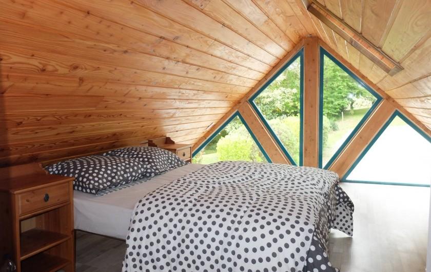 Location de vacances - Chalet à Plouër-sur-Rance - La chambre de l'etage