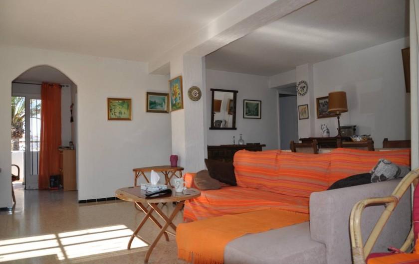 Location de vacances - Appartement à Alicante - Salon et entrée.
