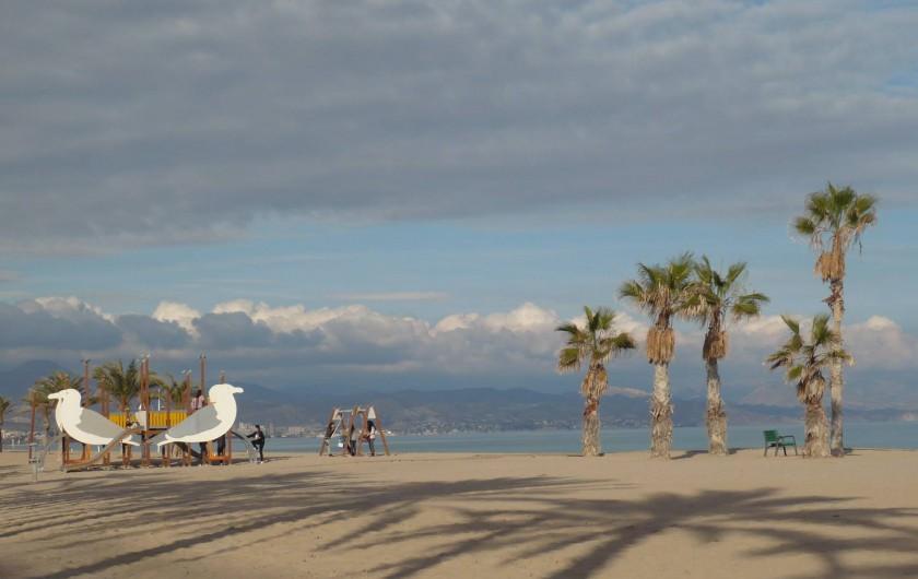 Location de vacances - Appartement à Alicante - l'aire de jeux pour les enfants