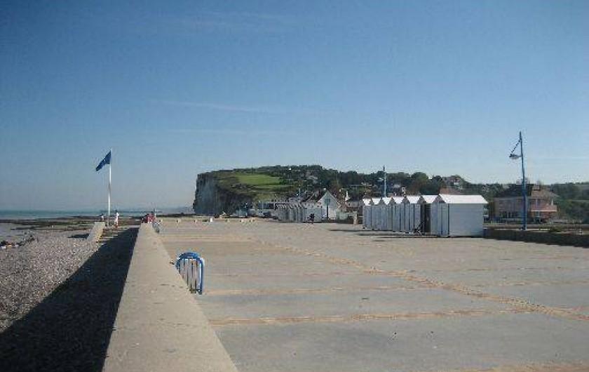Location de vacances - Appartement à Pourville-sur-Mer