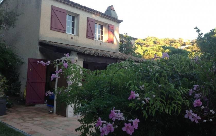 Location de vacances - Mas à La Croix-Valmer - Maison
