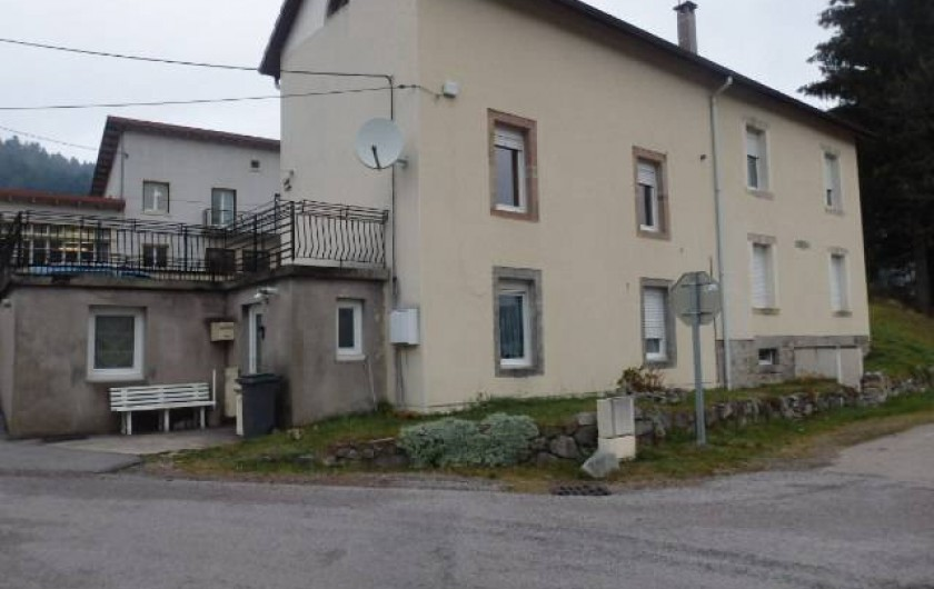 Location de vacances - Appartement à Le Tholy - appartement au rez-de-chaussée
