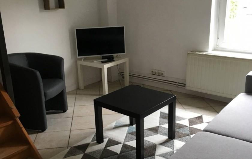 Location de vacances - Appartement à Le Tholy - salon