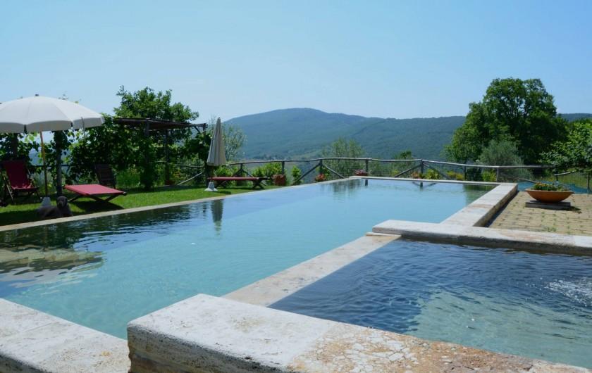 Location de vacances - Mas à Montepulciano - La piscine