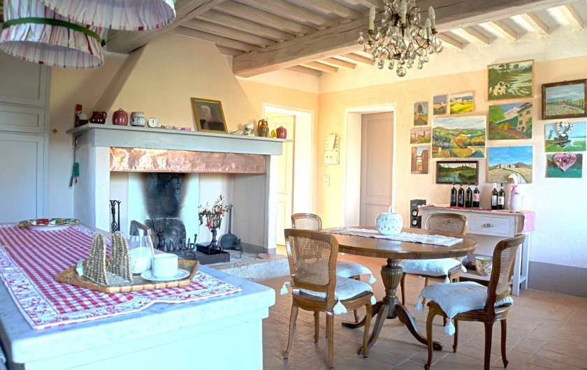 Location de vacances - Mas à Montepulciano - Grande cuisine
