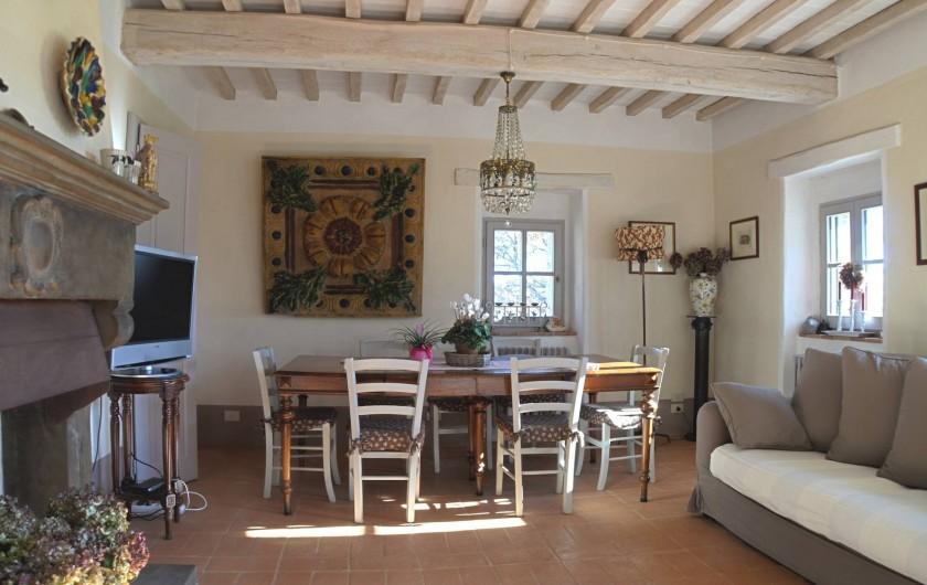 Location de vacances - Mas à Montepulciano - Salle à manger