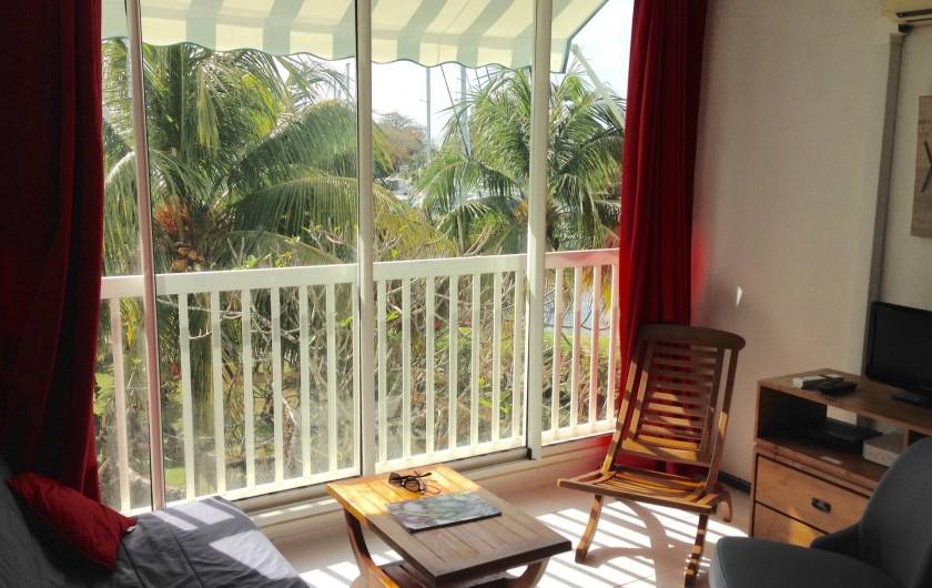 Location de vacances - Appartement à Pointe du Bout - Le séjour