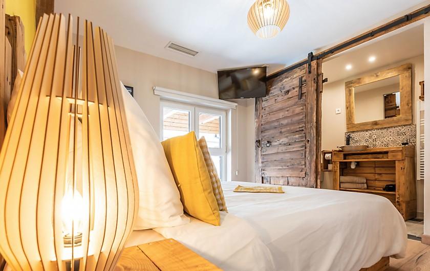 Location de vacances - Gîte à Ungersheim - La Chambre Jaune