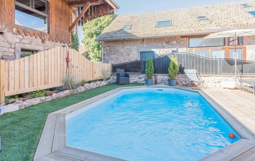 Location de vacances - Gîte à Ungersheim - La Piscine (Partagée)