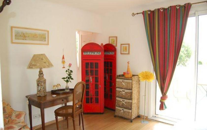 Location de vacances - Chambre d'hôtes à Kerzerho - Chambre 2 : Faites de beaux reves