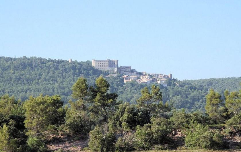 Location de vacances - Gîte à Saint-Martin-de-Pallières - Vue sur le village de Saint Martin de Pallières