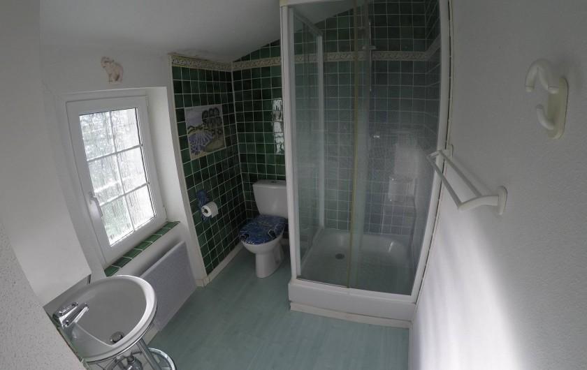Location de vacances - Gîte à Saint-Martin-de-Pallières - Salle de douche