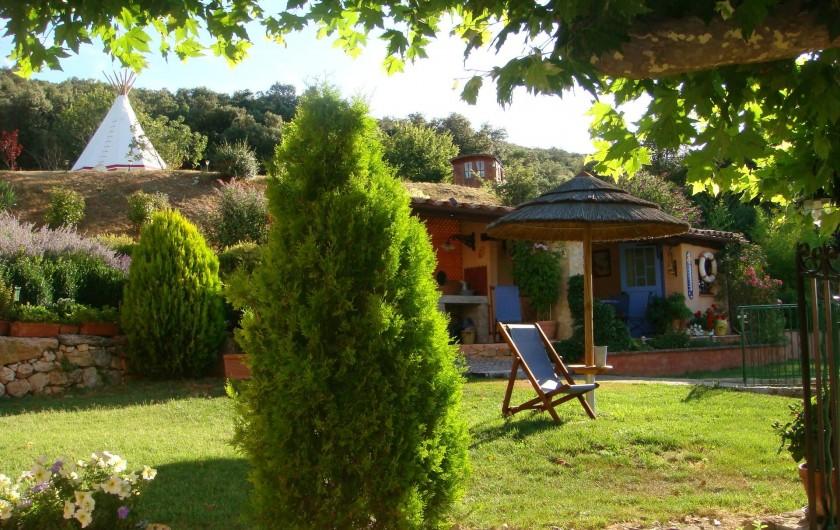 Location de vacances - Gîte à Saint-Martin-de-Pallières - Ambiance