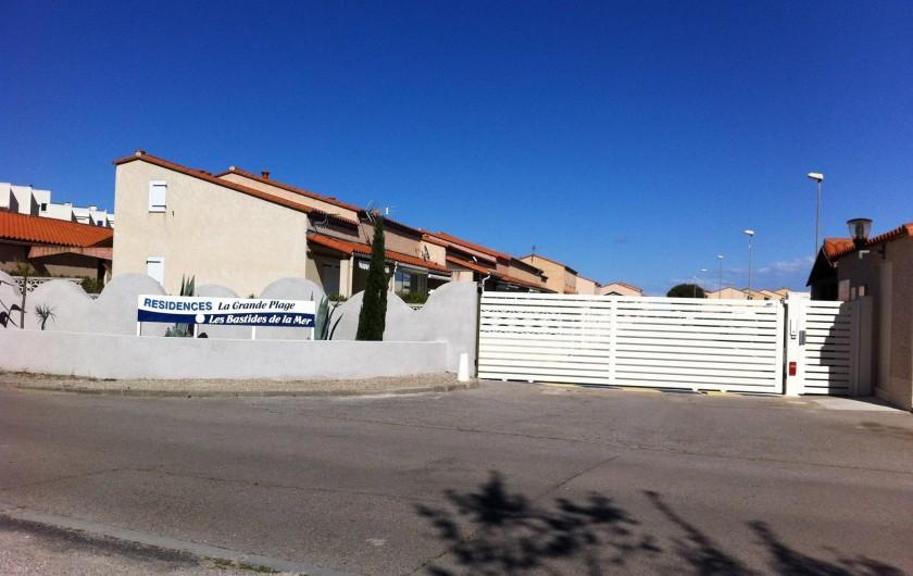 Location de vacances - Villa à Le Barcarès - Entrée résidence