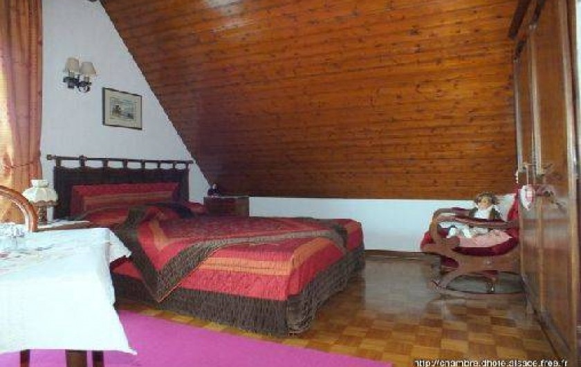 Location de vacances - Chambre d'hôtes à Soultzbach-les-Bains - Chambre Tilleul