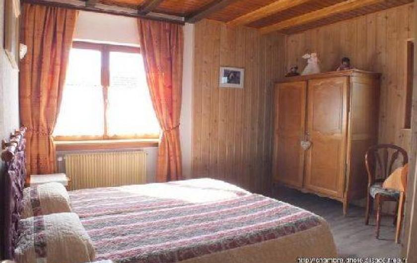Location de vacances - Chambre d'hôtes à Soultzbach-les-Bains - Chambre Abricotine