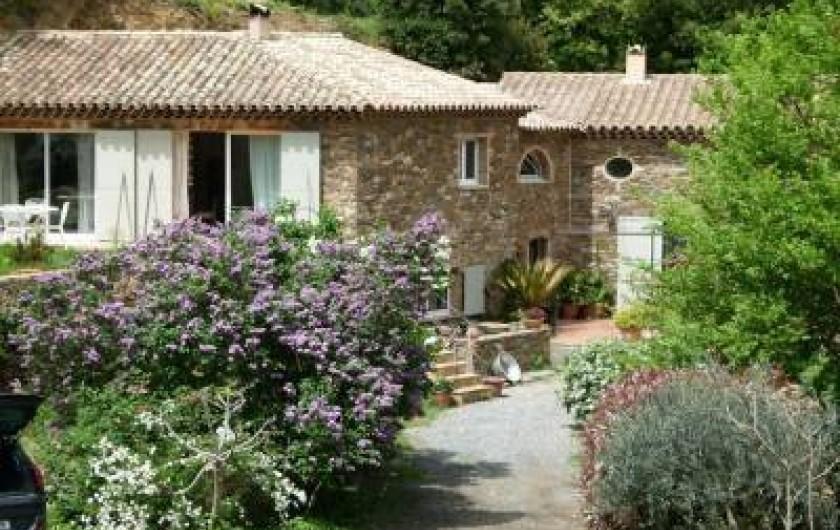 Location de vacances - Chambre d'hôtes à La Garde-Freinet - bastide en pierre