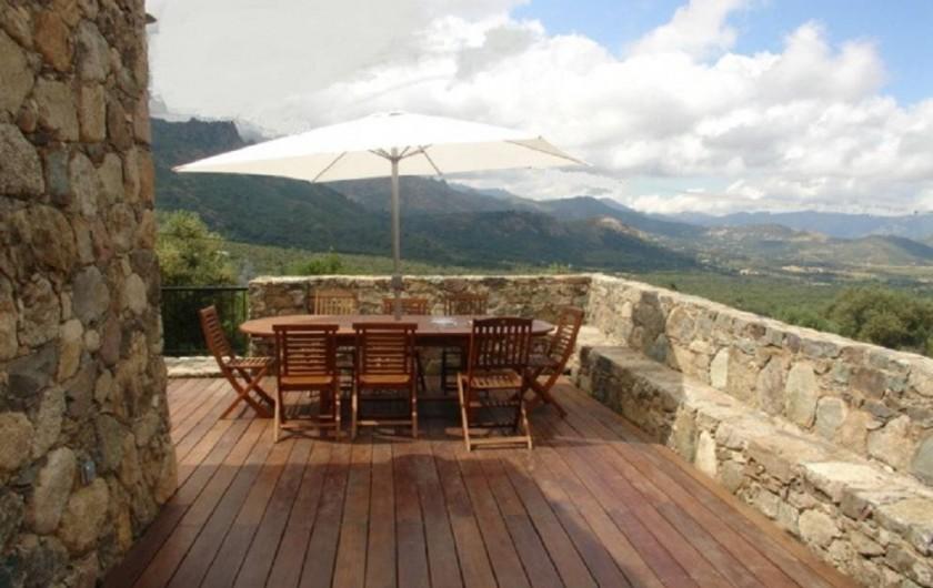 Location de vacances - Maison - Villa à Calvi - Terrasse