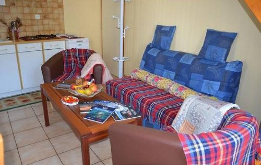 Location de vacances - Gîte à Béganne - Espace détente
