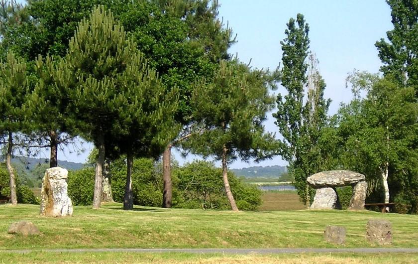 Location de vacances - Gîte à Béganne - Loisir: Site gallo-romains du Rohello (pique-nique possible)