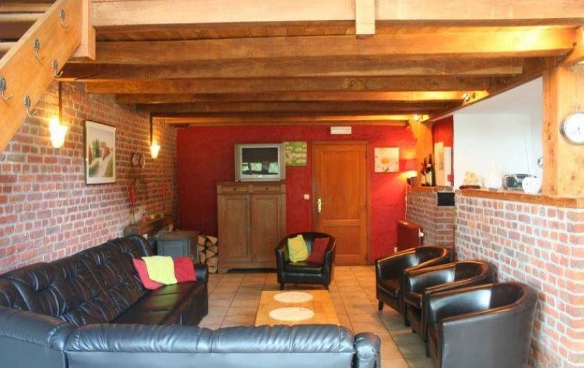 """Location de vacances - Gîte à Durbuy - salon de notre gîte """"Au Soleil Levant"""""""