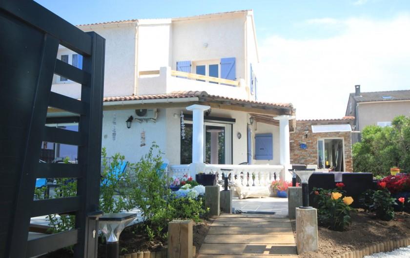 Location de vacances - Appartement à Saint-Florent - Entrée de la résidence.