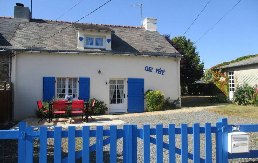 Location de vacances - Maison - Villa à Pénestin - Façade