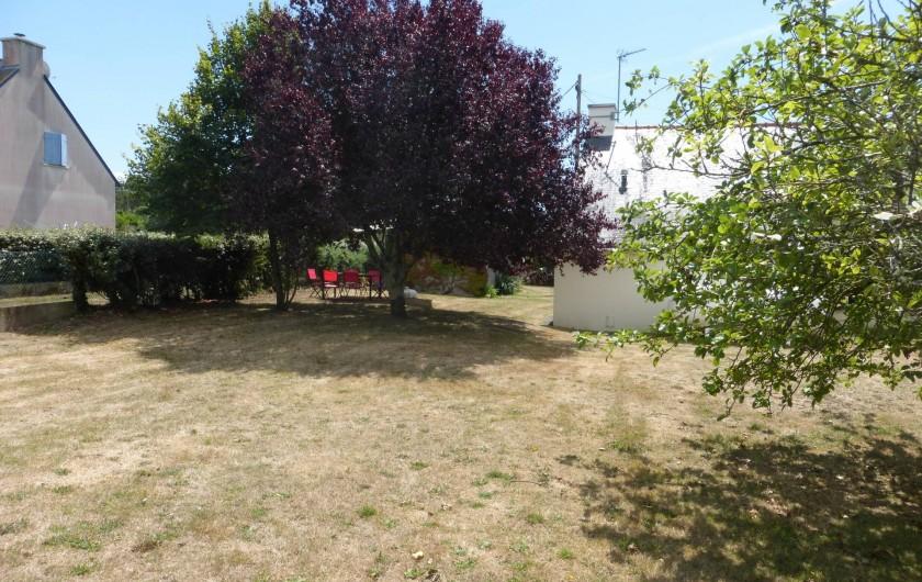Location de vacances - Maison - Villa à Pénestin - Jardin à l'arrière de la maison