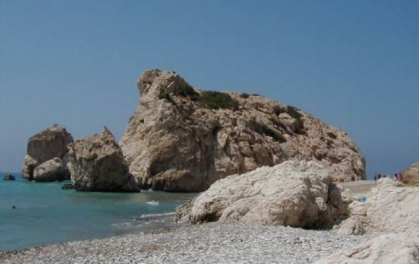 Location de vacances - Appartement à Kato Paphos - Petra tou Romiou (Rocher d'Aphrodite): lieu de naissance de la déesse
