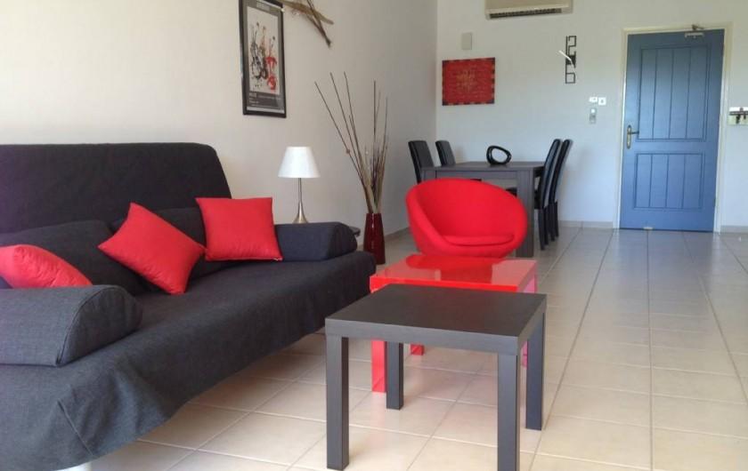 Location de vacances - Appartement à Kato Paphos - La pièce à vivre