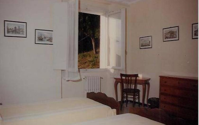 Location de vacances - Appartement à Levanto - Chambre n. 2 (avec different couverture de lit)