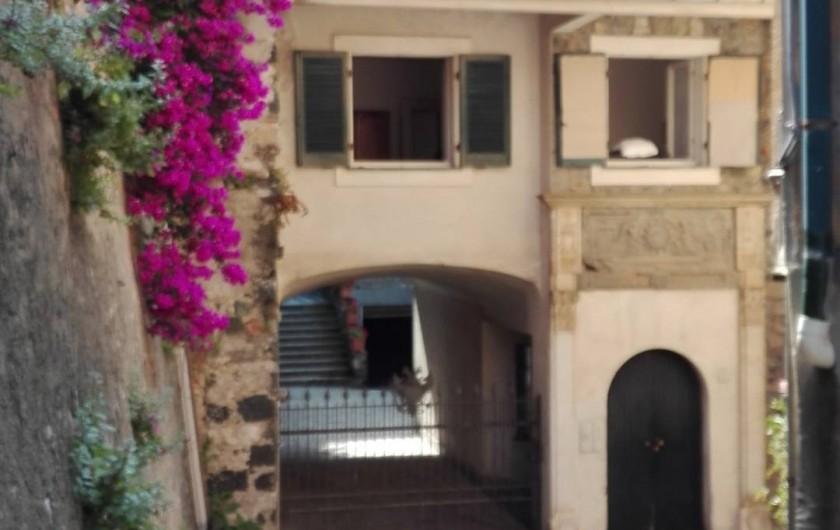 Location de vacances - Appartement à Levanto - Acces a la maison de la Salita San Giacomo