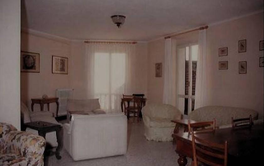 Location de vacances - Appartement à Levanto - Salon - salle a manger