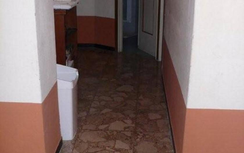Location de vacances - Appartement à Levanto - Couloir vers les chambres