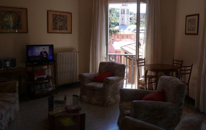 Location de vacances - Appartement à Levanto - Salon-salle a manger