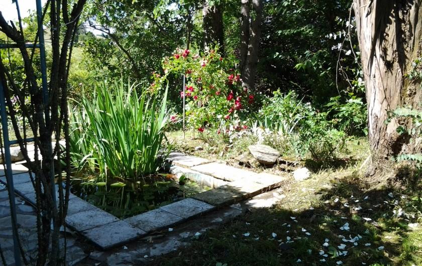 Location de vacances - Appartement à Bagnac-sur-Célé - Le bassin côté ouest