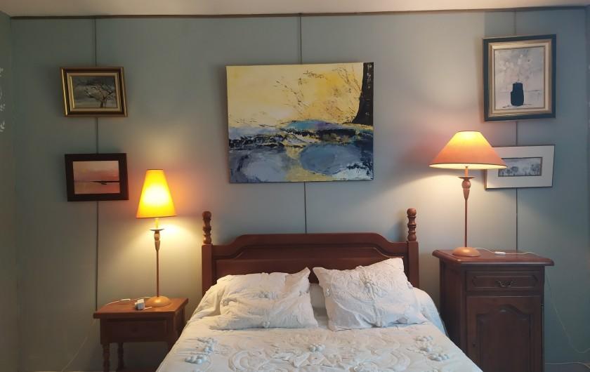 Location de vacances - Appartement à Bagnac-sur-Célé - Chambre parentale