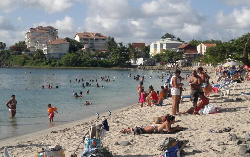 Location de vacances - Maison - Villa à Les Trois-Îlets - plage de l'anse mitan