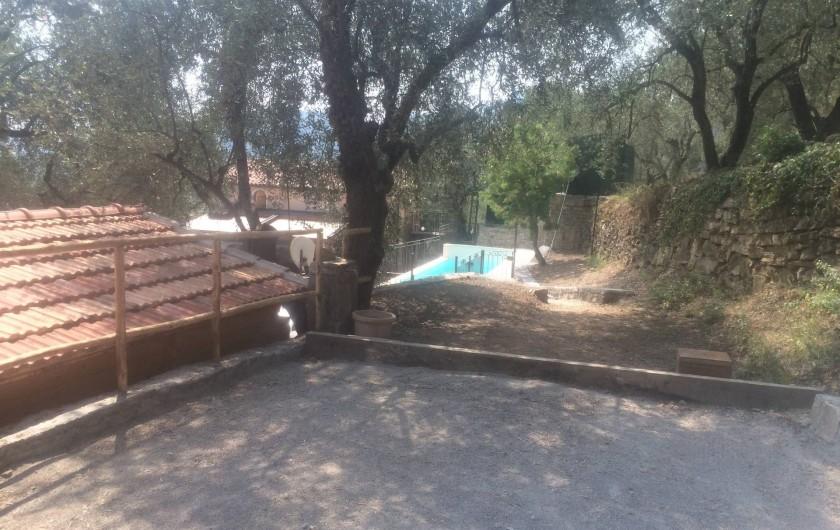 Location de vacances - Villa à Breil-sur-Roya - terrain de boules