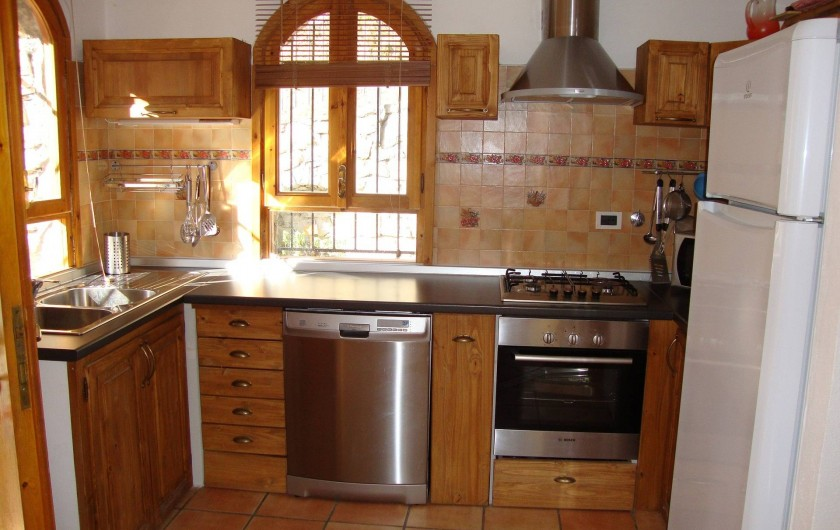 Location de vacances - Villa à Breil-sur-Roya - cuisine